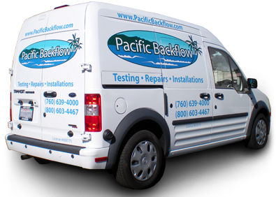 pacific backflow van